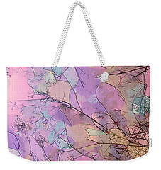 Weekender Tote Bag featuring the photograph Rapture by Kathy Bassett