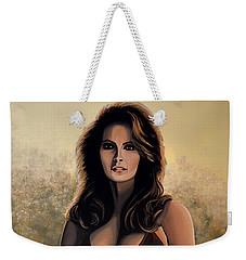 Raquel Welch 2 Weekender Tote Bag