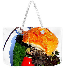 Ratburger With Cheese Weekender Tote Bag