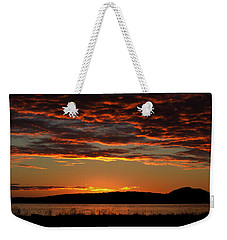 Rathtrevor Sunrise Weekender Tote Bag