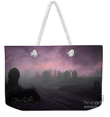 Rave In The Grave Weekender Tote Bag