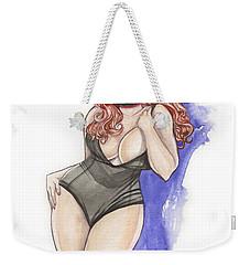 Raven Roxxitt Weekender Tote Bag by Jimmy Adams