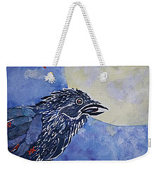 Raven Speak Weekender Tote Bag