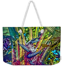 Weekender Tote Bag featuring the photograph Ravenala by Hanny Heim