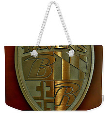 Ravens Coat Of Arms Weekender Tote Bag by Robert Geary