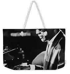 Ray Charles At The Piano Weekender Tote Bag