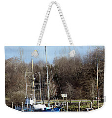 Raymond Fishing Boats Weekender Tote Bag