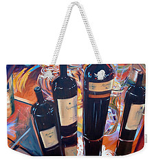 Raymond Vineyards Crystal Cellar Weekender Tote Bag by Donna Tuten