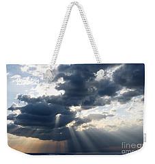 Rays And Clouds Weekender Tote Bag