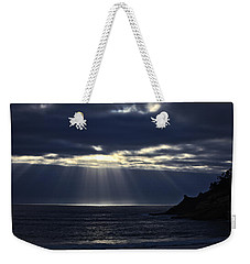 Rays Of Hope At Cape Kiwanda Oregon Weekender Tote Bag