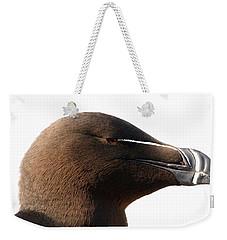Razorbill Auk Weekender Tote Bag by Jeannette Hunt