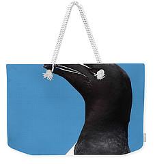 Razorbill Profile Weekender Tote Bag by Bruce J Robinson