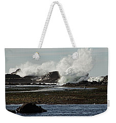 Weekender Tote Bag featuring the photograph Reaching For The Sky by Dave Files