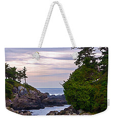 Reaching Out To The Ocean Weekender Tote Bag by Jordan Blackstone
