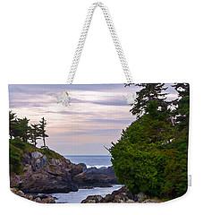 Reaching Out To The Ocean Weekender Tote Bag