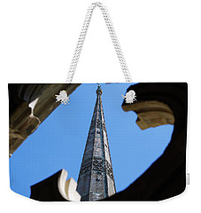Weekender Tote Bag featuring the photograph Reaching Towards Heaven by Wendy Wilton