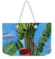 Weekender Tote Bag featuring the painting Ready For Harvest by Laura Forde
