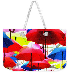 Ready For Rain Weekender Tote Bag