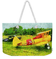 Ready For Takeoff Weekender Tote Bag
