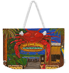 Ready For The Day At The Crab Shack Weekender Tote Bag