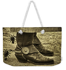 Weekender Tote Bag featuring the photograph Ready To Ride by Priscilla Burgers