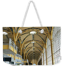 Weekender Tote Bag featuring the photograph Reagan National Airport by Suzanne Stout