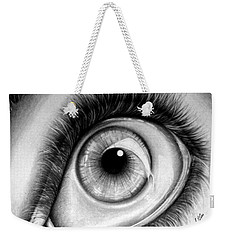 Realistic Eye Weekender Tote Bag
