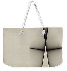 Rear View Weekender Tote Bag by GJ Blackman