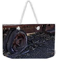 Weekender Tote Bag featuring the photograph Rear Wheel Drive by Michael Gordon