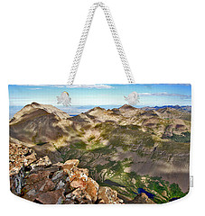 Reason To Climb Weekender Tote Bag by Jeremy Rhoades