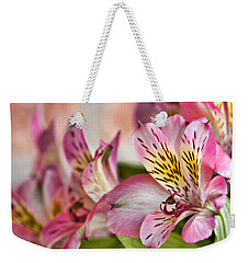 Rebecca's Weekender Tote Bag by Lana Trussell