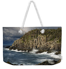 Receding Storm At Gulliver's Hole Weekender Tote Bag