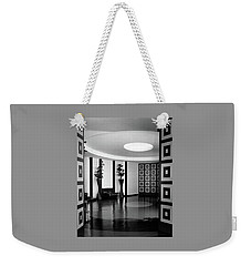 Reception Hall At The Terrace Club Weekender Tote Bag