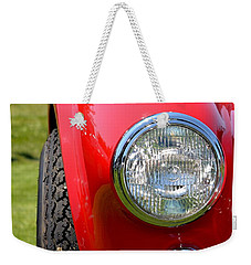Weekender Tote Bag featuring the photograph Red Ac Cobra by Dean Ferreira