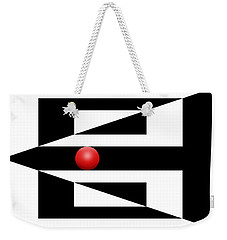 Red Ball 3 Weekender Tote Bag