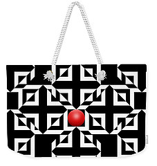 Red Ball 5 Weekender Tote Bag