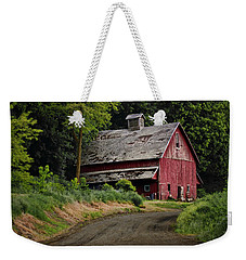 Red Barn - County Road  Weekender Tote Bag