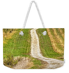 Red Barn On The Hill Weekender Tote Bag