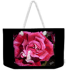 Red Beauty 2  Weekender Tote Bag