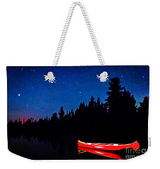 Red Canoe I Weekender Tote Bag