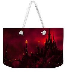 Red Castle Weekender Tote Bag