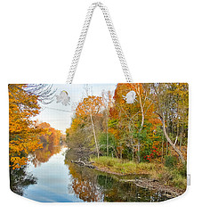Red Cedar Fall Colors Weekender Tote Bag