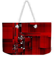 Red Construction I Weekender Tote Bag