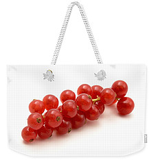 Red Currant Weekender Tote Bag by Fabrizio Troiani