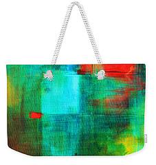 Red Dash Weekender Tote Bag