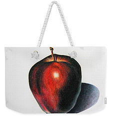 Red Delicious Apple Weekender Tote Bag by Marna Edwards Flavell