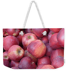 Weekender Tote Bag featuring the photograph Red Delicious by Joseph Skompski