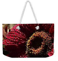 Red Dew Weekender Tote Bag by Joe Schofield