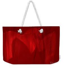Red Drama Weekender Tote Bag