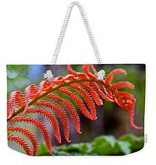 Autumn Fern In Hawaii Weekender Tote Bag by Venetia Featherstone-Witty